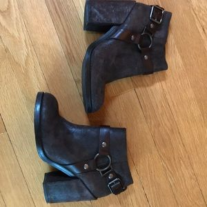 Ash Falcon Leather Booties